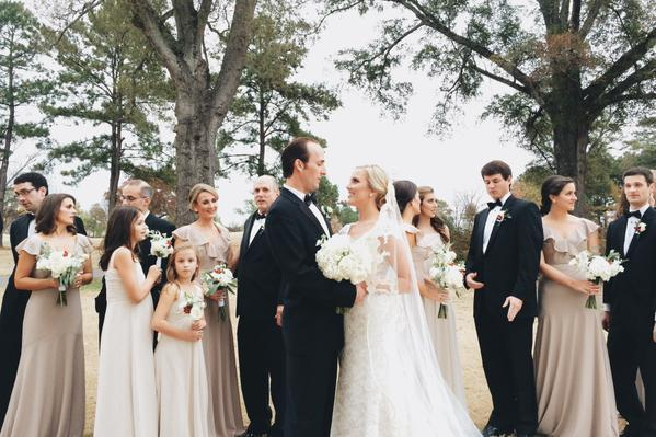 """""""Emily and Duke's classic Southern wedding in Montgomery, Alabama."""" - Courtney Wolf"""