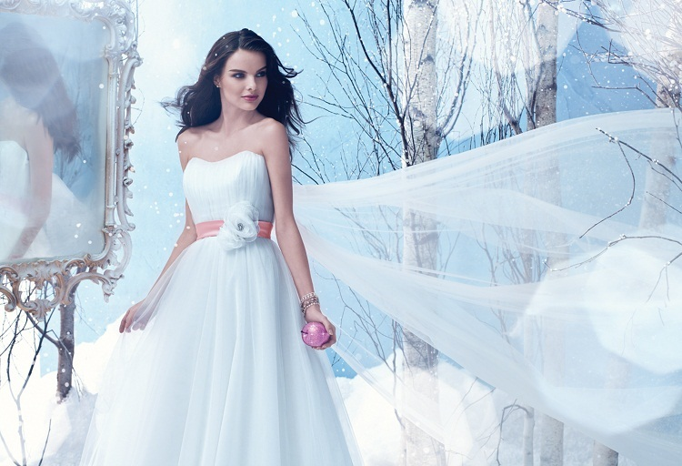 Winter Wedding Dresses Channel Your Inner Disney Princess In This Snow White Inspired Concoction Get It