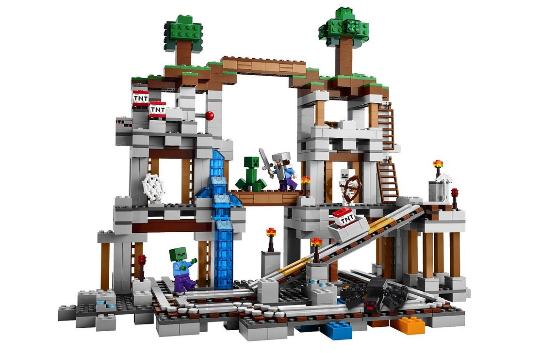 """<strong><a href=""""http://shop.lego.com/en-GB/The-Mine-21118?fromListing=listing"""">LEGO Minecraft: The Mine</a> [£89.99]</strong"""
