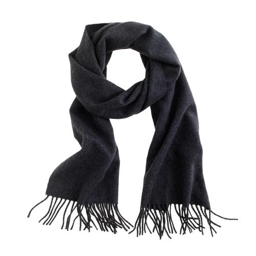 "Cashmere Scarf, $98, <a href=""https://www.jcrew.com/mens_category/accessories/scarves/PRDOVR~54104/54104.jsp"" target=""_blank"""