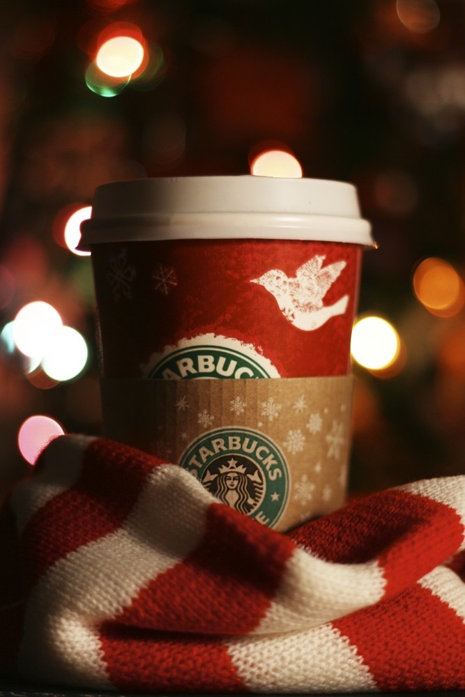 Because when the Starbucks cups begin to match Rudolph's nose, you know time has come for that holiday cheer.
