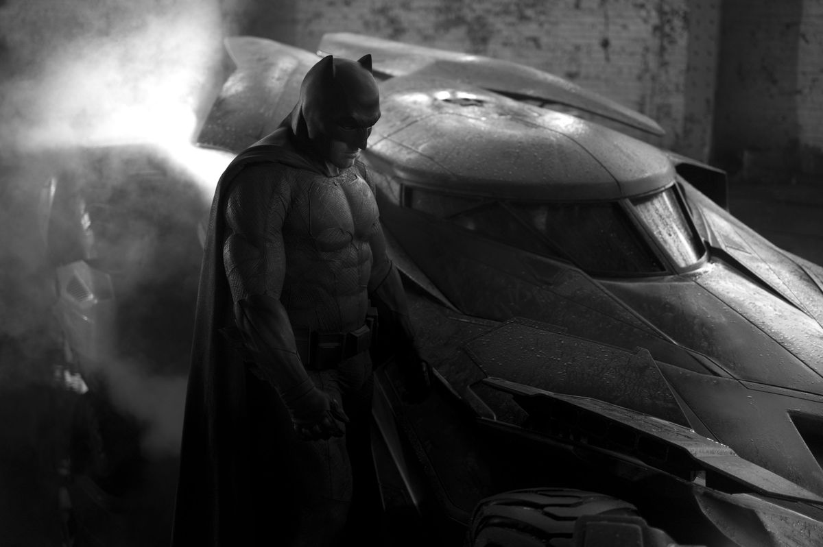 """<strong>Movie:</strong> """"Batman v Superman: Dawn of Justice"""" (2016) <br><strong>Role:</strong> Batman, the Caped Crusader. <b"""