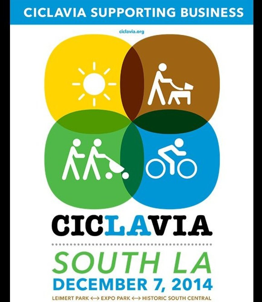 CicLAvia -- or everyone's favorite way to really explore the streets of LA -- is hosting yet another event this Sunday, Decem