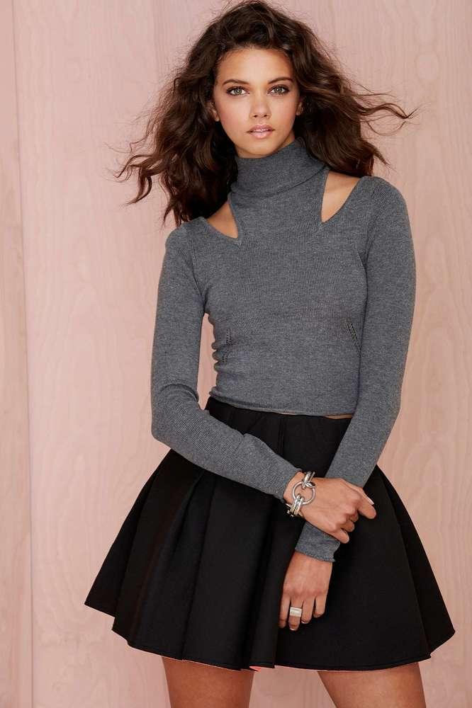 "$58, <a href=""http://www.nastygal.com/product/nasty-gal-cara-cutout-turtleneck-sweater"" target=""_blank"">NastyGal.com</a>"