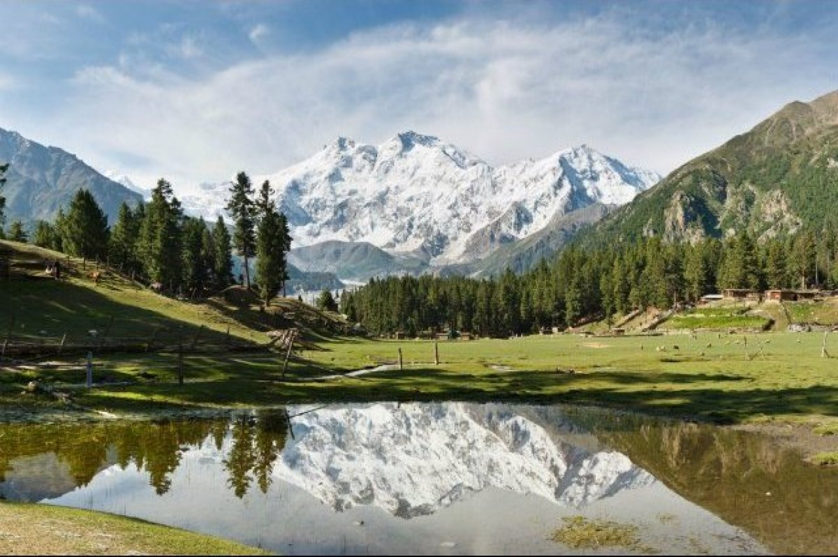 Nanga Parbat, located in Pakistan is known as the Man Eater for its numerous mountaineering deaths. Though it is only the nin