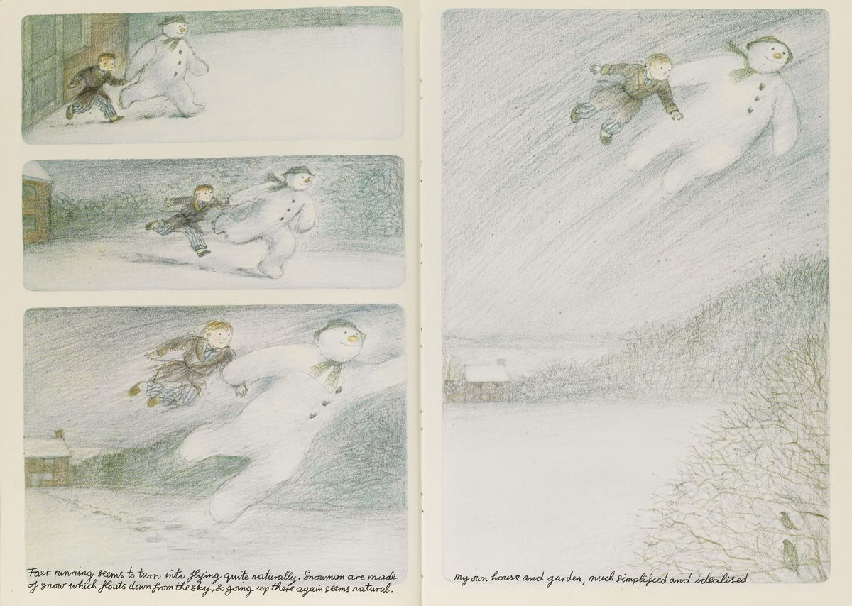Raymond Briggs, <em>The Snowman</em>, Hamish Hamilton, 1978