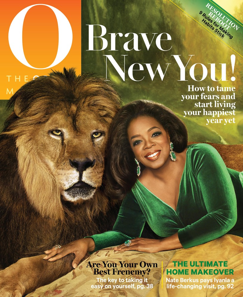 The list of luminaries who have shared the cover of O with Oprah is pretty short: Michelle Obama. Ellen DeGeneres. Rosie O'Do