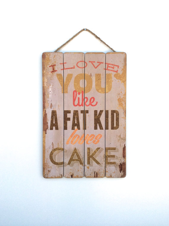 """<strong>50 Cent said it best! Declare your love with this cute kitchen sign. </strong> Get the <a href=""""https://www.etsy.com/"""
