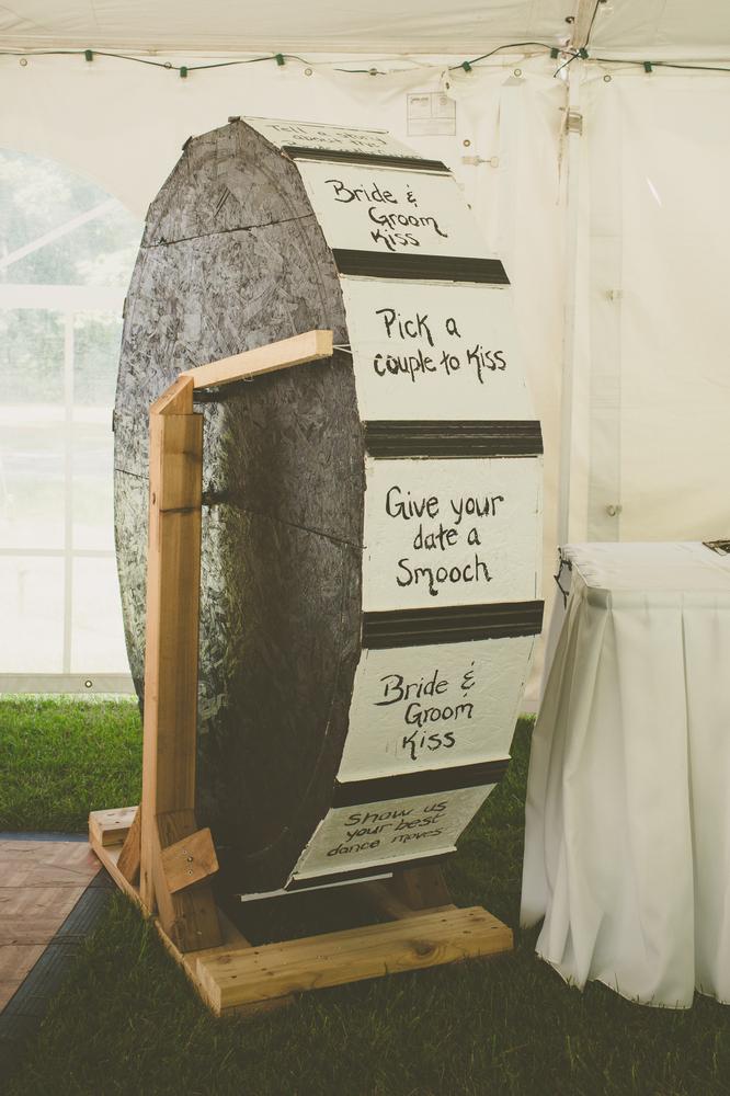 20 super fun wedding ideas your childhood self would love huffpost a wheel o fun junglespirit Gallery