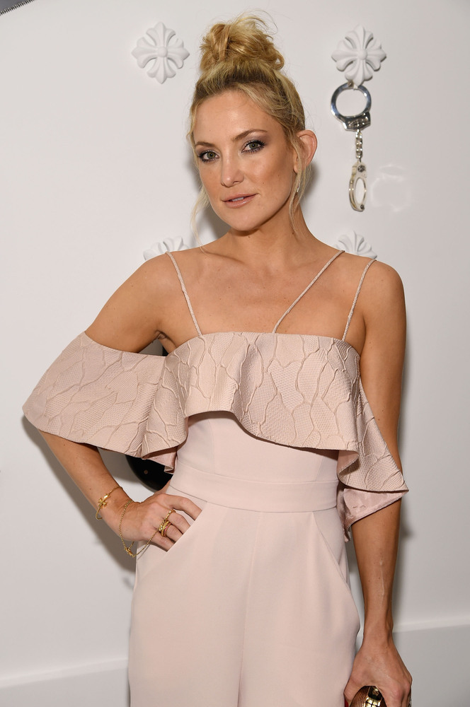 Kate Hudson stopped by Miami's Design District to attend a party at Chrome Hearts.
