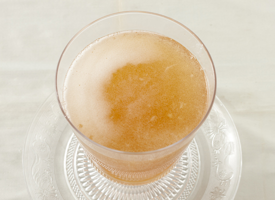 """<strong>Get the <a href=""""http://www.huffingtonpost.com/2011/10/27/champagne-punch_n_1059537.html"""">Pineapple Champagne Punch r"""