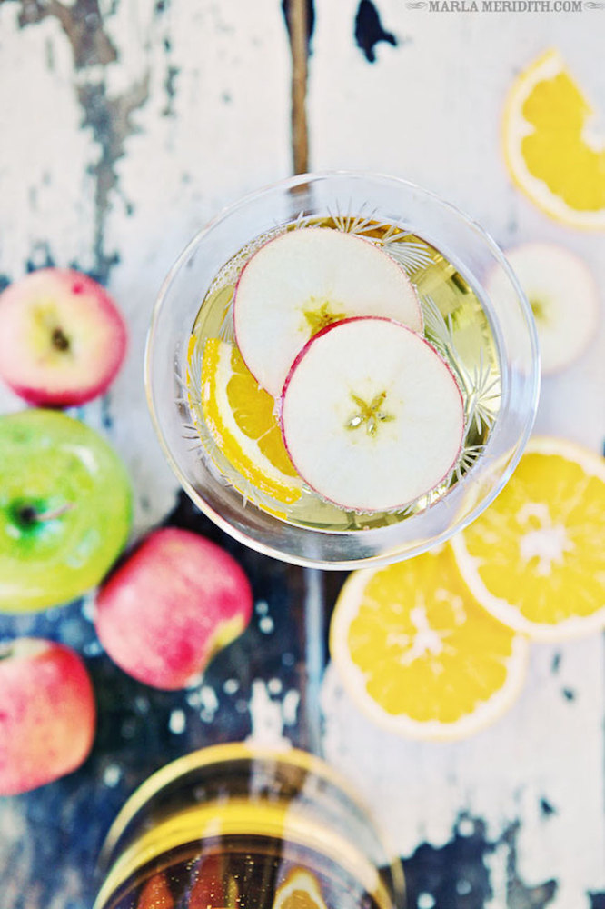 """<strong>Get the <a href=""""http://www.familyfreshcooking.com/2013/12/26/champagne-apple-punch-recipe/"""">Autumn Champagne Apple P"""