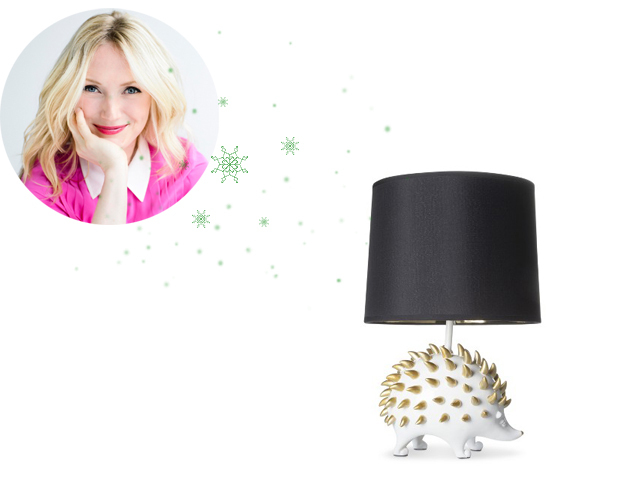 """""""Hedgehogs are kinda trendy right now, and while I know first hand that they aren't exactly cuddly pets, this lamp sure is ad"""