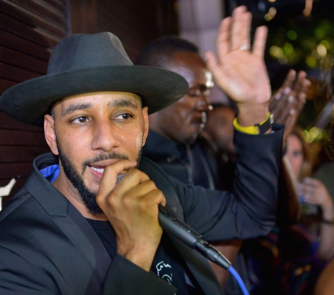 Swiss Beatz attends Haute Living 10 Year Anniversary Party with Swizz Beatz on December 6, 2014 in Miami, Florida.  Photo Cr