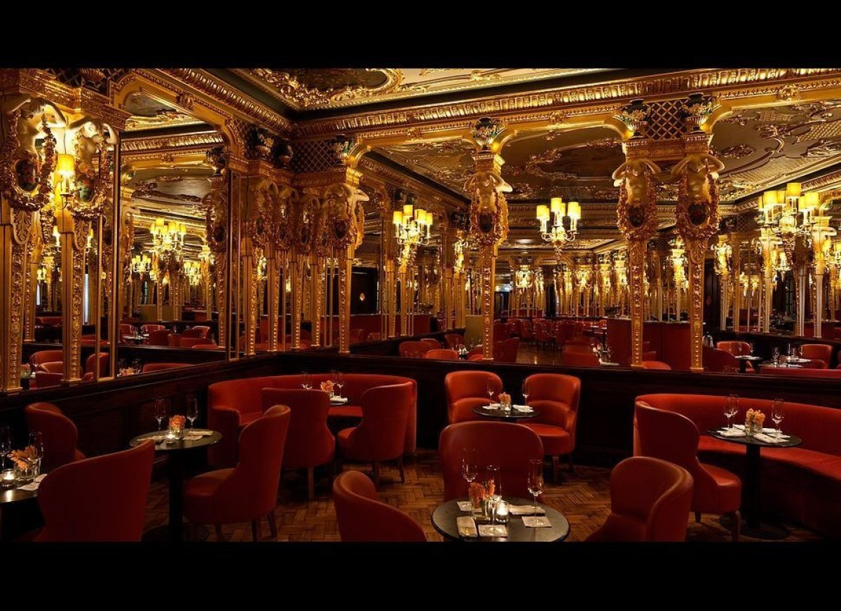 What was once the iconic Grill Room has a new look, one that's firmly rooted in the past, with a restoration to the room's au