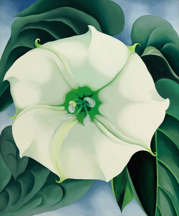 Jimson Weed/White Flower No. 1 (1932) sold at Sotheby's New York on November 20, 2014, for 44,405,000.