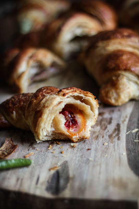 "<strong>Get the <a href=""http://www.adventures-in-cooking.com/2013/02/croissants-three-ways.html"" target=""_blank"">Blood Orang"