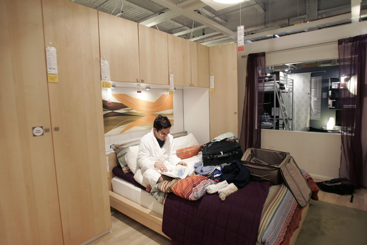 Yep, This Happened. For One Night Only, IKEA Australia Allowed Patrons To  Sleep