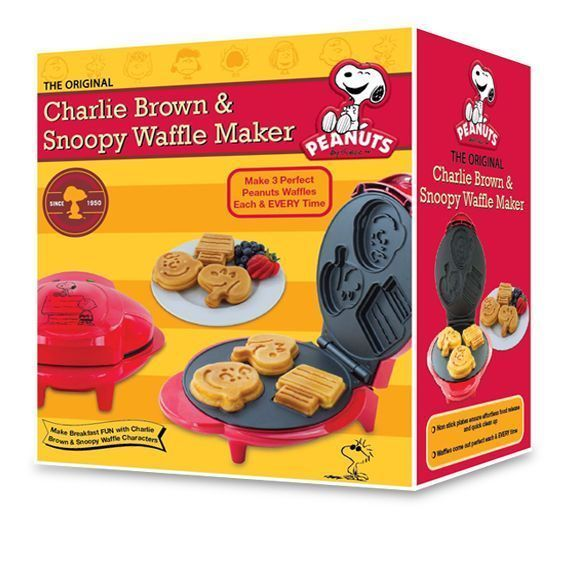 Snoopy waffle maker, $19.99, CVS stores