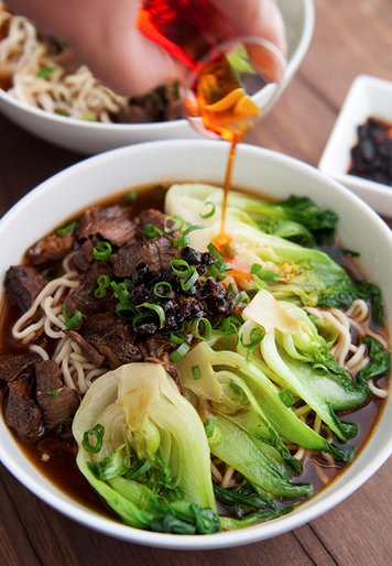 """<strong>Get the <a href=""""http://userealbutter.com/2012/02/12/taiwanese-beef-noodle-soup-recipe/"""" target=""""_blank"""">Taiwanese Be"""