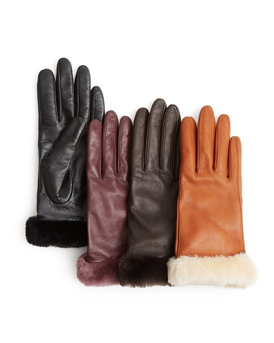 ugg gloves at bloomingdales