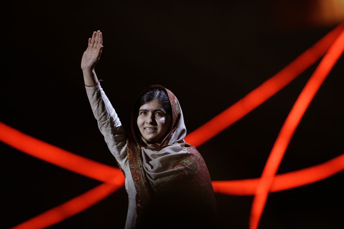 At 17, most of us were wrestling with which university to go to.   But Malala received the Nobel Peace Prize in Norway making