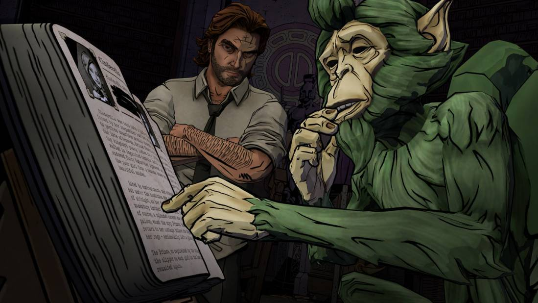 <strong>The Wolf Among Us</strong> In a bleak New York cityscape, it's up to the big bad Wolf to help solve the murder of a f