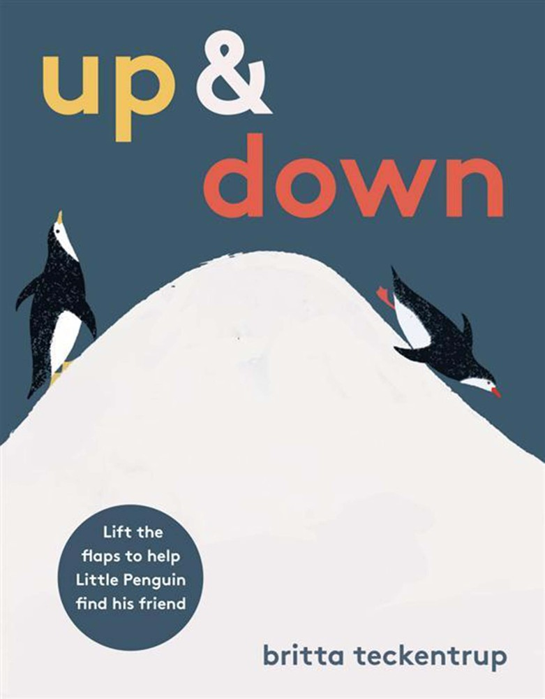 Sometimes the simplest books are the best, and this story about two penguins trying to reach each other across a great divide