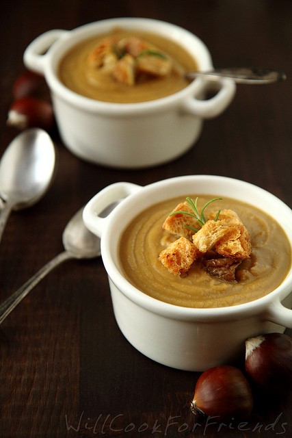 """<strong>Get the <a href=""""http://www.willcookforfriends.com/2012/12/creamy-chestnut-soup-and-escaping-holiday-chaos.html"""" targ"""