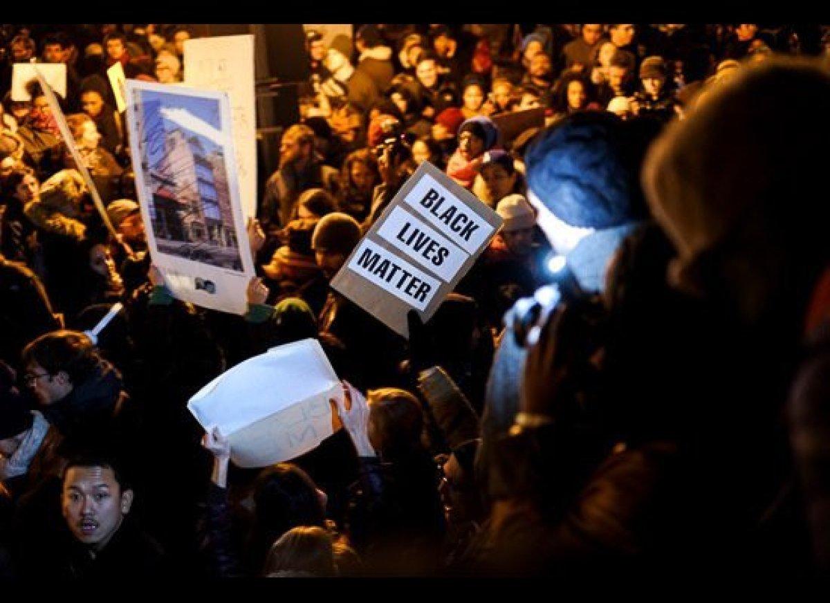December 4, 2014, NYC, © Brigitte Hamadey