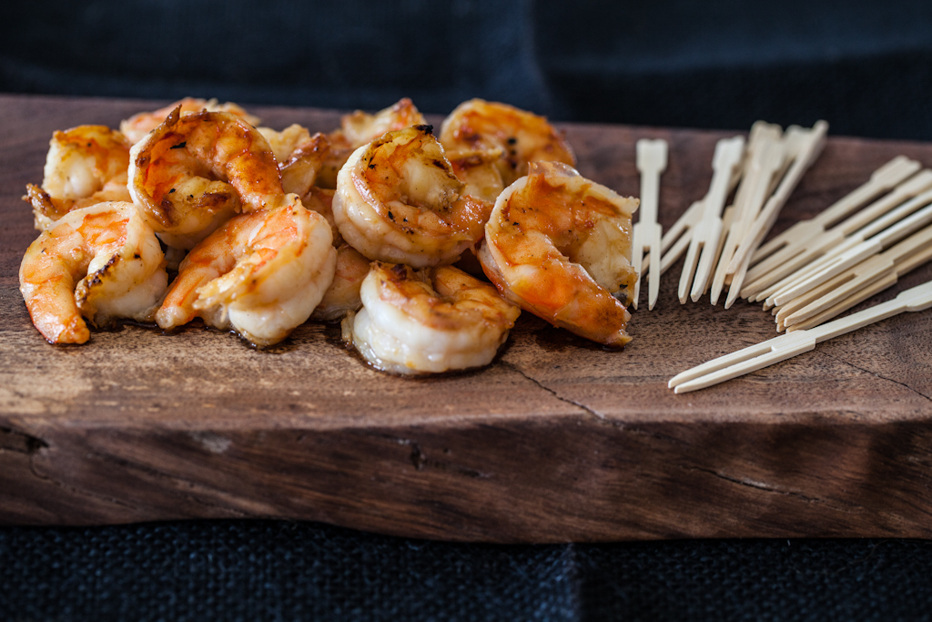 """<strong>Get the <a href=""""http://steamykitchen.com/23695-miso-butter-shrimp-recipe.html"""">Miso Butter Shrimp</a> recipe from St"""