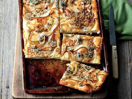 """<strong>Get the <a href=""""http://www.huffingtonpost.com/2011/10/27/focaccia-with-caramelized_n_1060874.html"""">Focaccia With Car"""