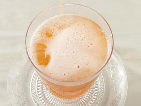 """<strong>Get the <a href=""""http://www.huffingtonpost.com/2011/10/27/champagne-punch_n_1059537.html"""">Champagne Punch recipe</a>"""