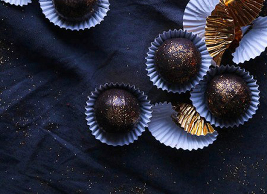 """<strong>Get the <a href=""""http://www.bakersroyale.com/holiday/rum-truffles/"""" target=""""_blank"""">Rum Truffles recipe</a> from Bake"""