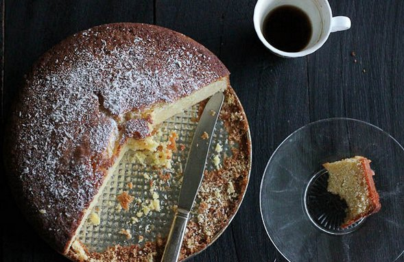 "<strong>Get the <a href=""http://food52.com/recipes/25578-brandy-orange-new-year-s-cake-vasilopita"" target=""_blank"">Brandy-Ora"