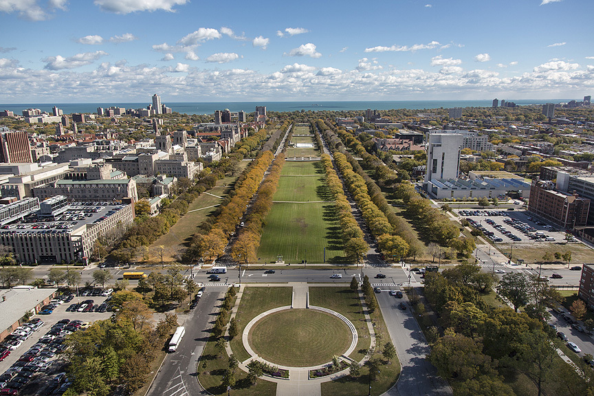 U of C hopes the Obama Library can be on or near park land on the city's South Side.