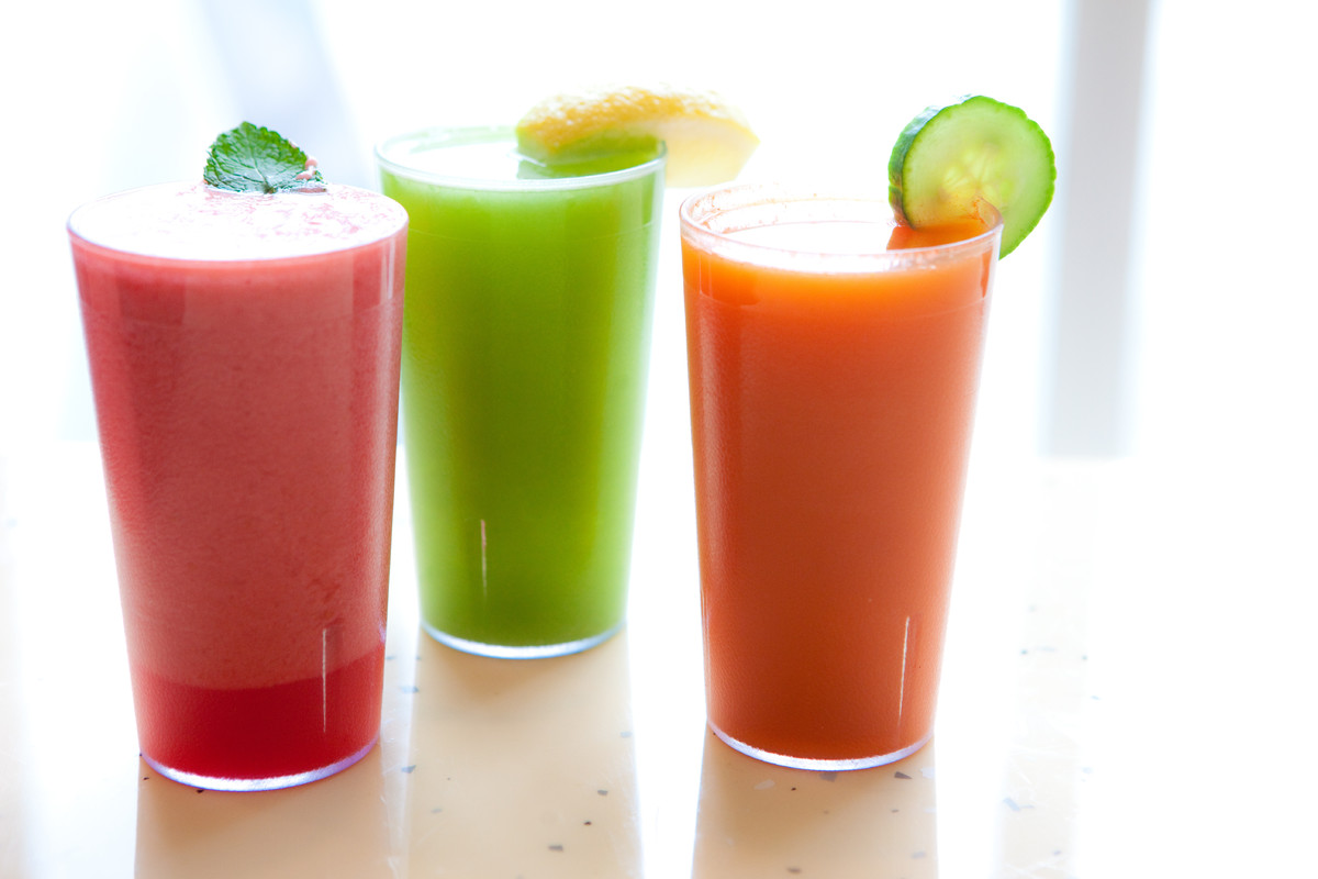 Yes. Cold, refreshing juices made from fresh fruits and vegetables are something we totally want to drink. Bonus that it's go