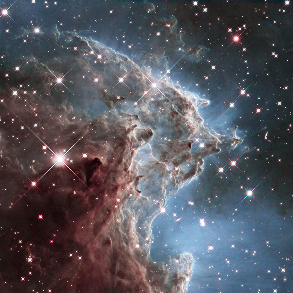 """This Hubble Space Telescope photo shows NGC 2174, the <a href=""""http://hubblesite.org/newscenter/archive/releases/2014/18/imag"""