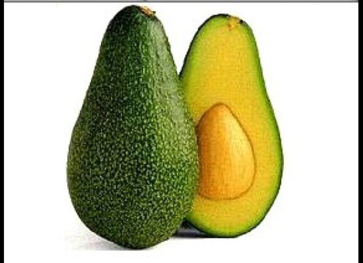Avocado - most people think that when cut, an avocado looks like a uterus. But, the word avocado is derived from an ancient A