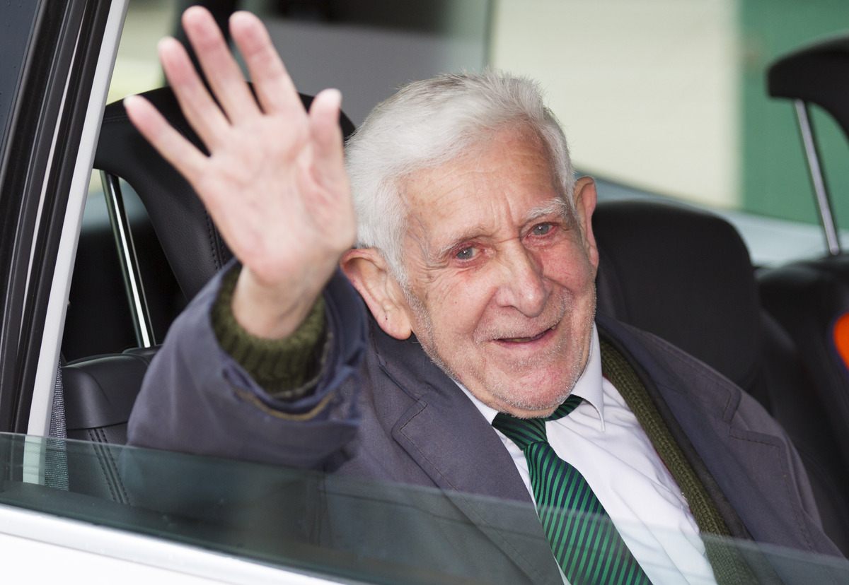 Bernard Jordan, the 90-year-old war veteran found in Normandy after being reported missing from his care home in Hove, Sussex