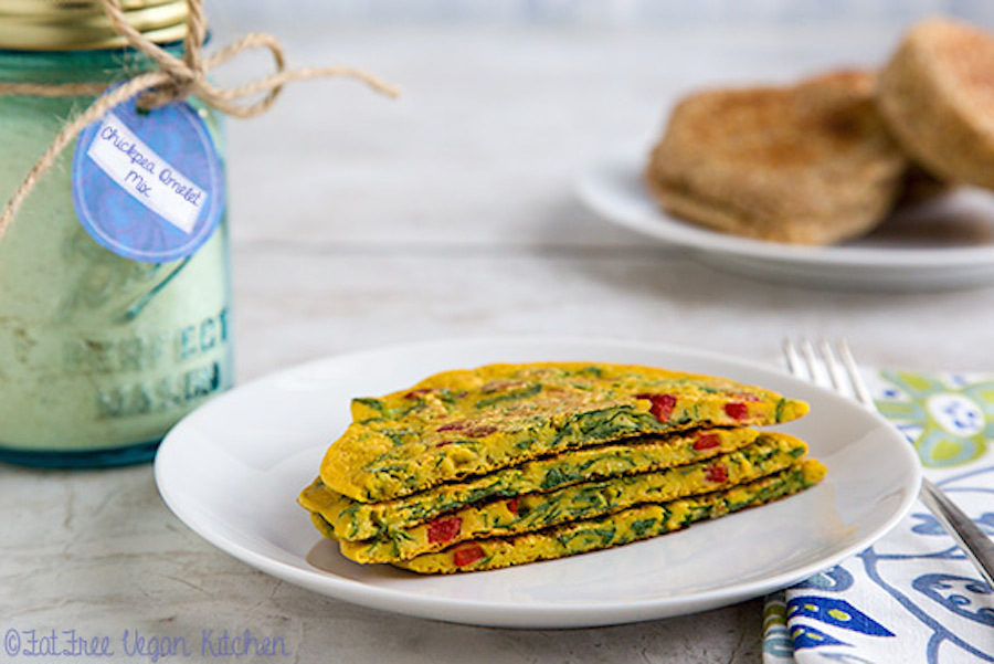 Vegans have found a way to enjoy a hearty breakfast staple -- the omelet -- despite the fact that eggs are not included in th