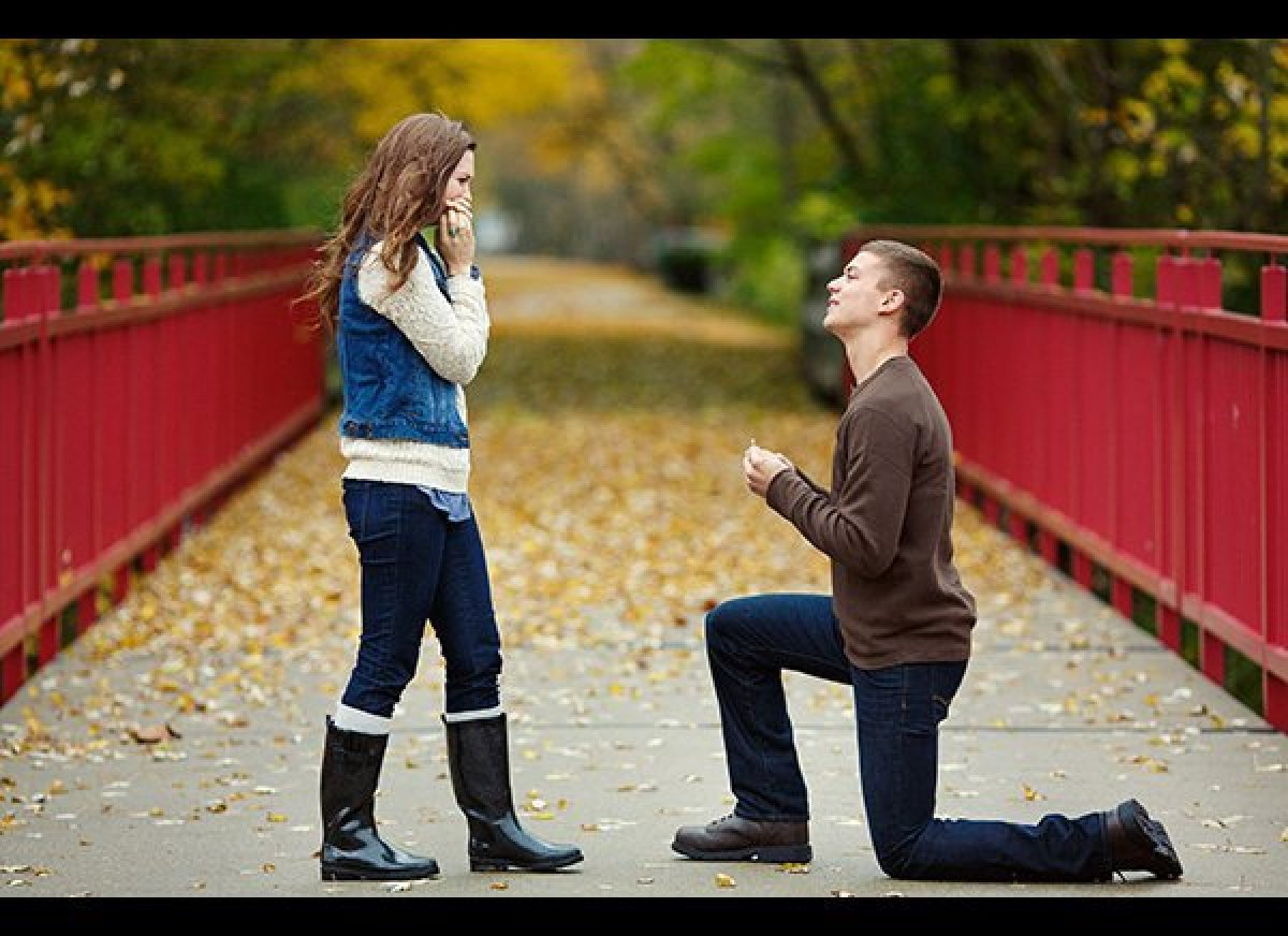 Lanette and Cain's proposal shoot was organized under the pretext of a boyfriend/girlfriend modeling call that Bobbi + Mike P