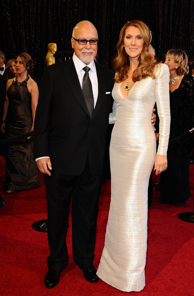 Celine Dion, 46, has been married to Rene Angelil, 72, since 1994. Rene has been managing Celine's career since she was 12.