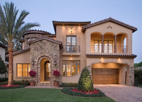 Mediterranean Style Houses Evoke Homes In Southern Spain, France, And  Italy. They Typically