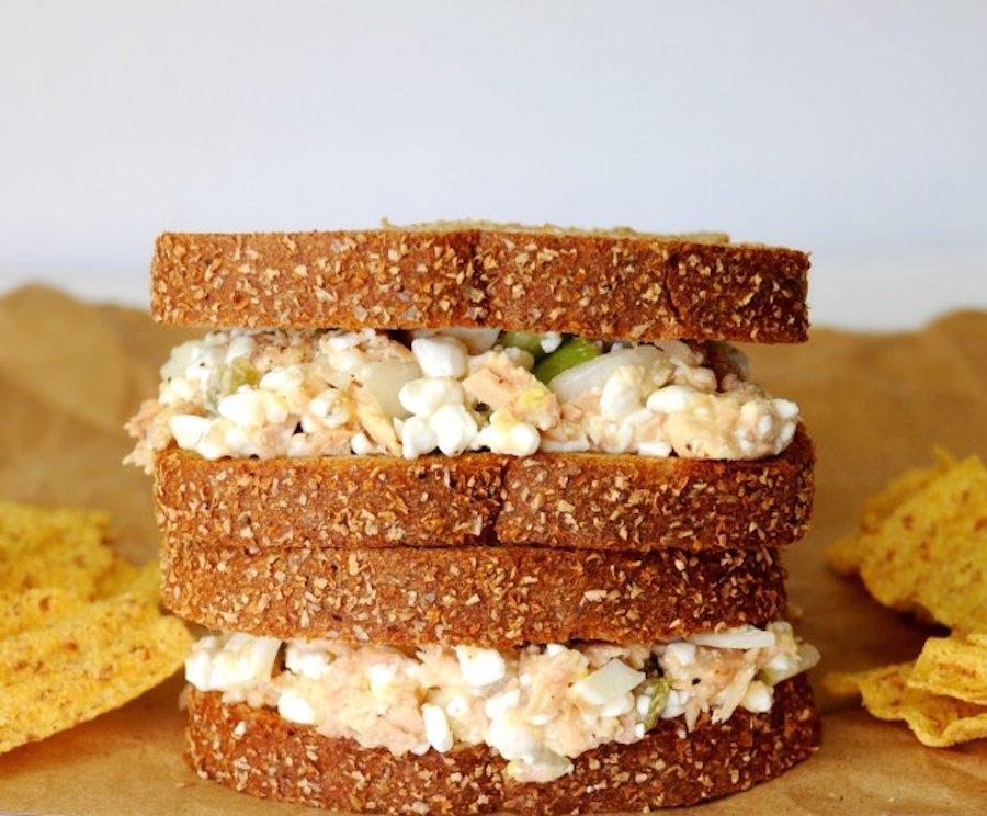 Tuna fish sandwich healthy for Making tuna fish