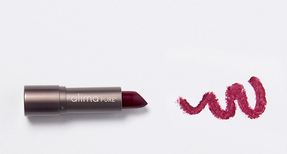 """$26, <a href=""""http://www.alimapure.com/collections/lips/products/velvet-lipstick"""" target=""""_blank"""">Alimapure.com</a>"""
