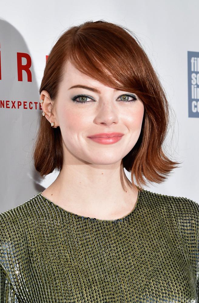 Emma Stone Hair 2013 Bangs
