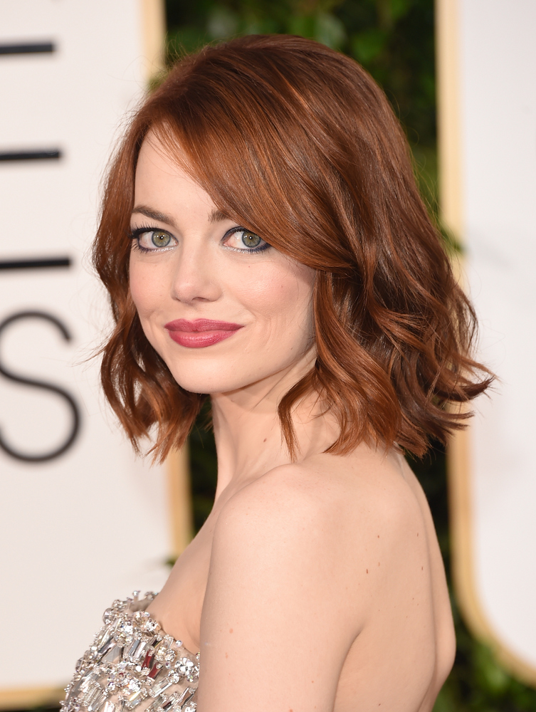 37 emma stone hairstyles to inspire your next makeover huffpost bob urmus Choice Image