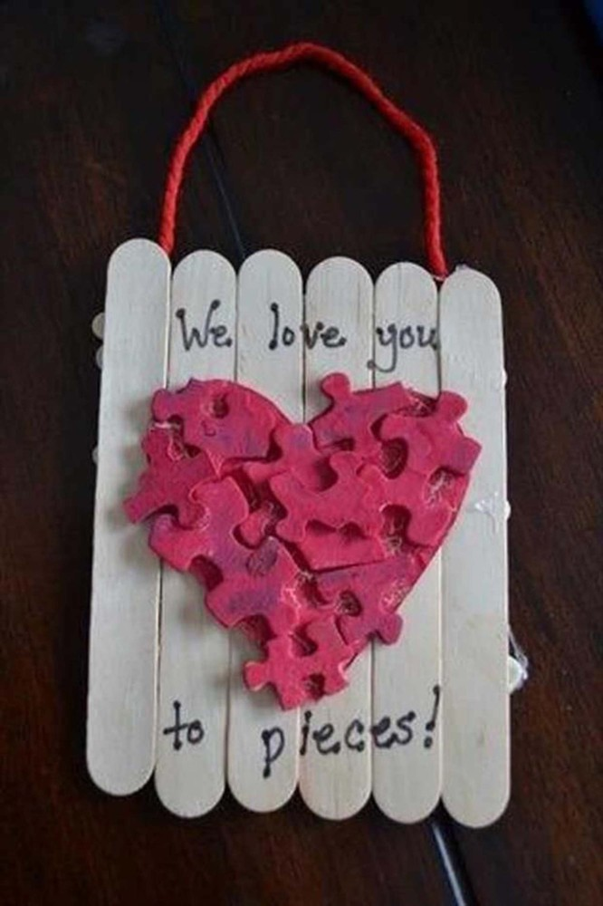 23 easy valentine's day crafts that require no special skills, Ideas