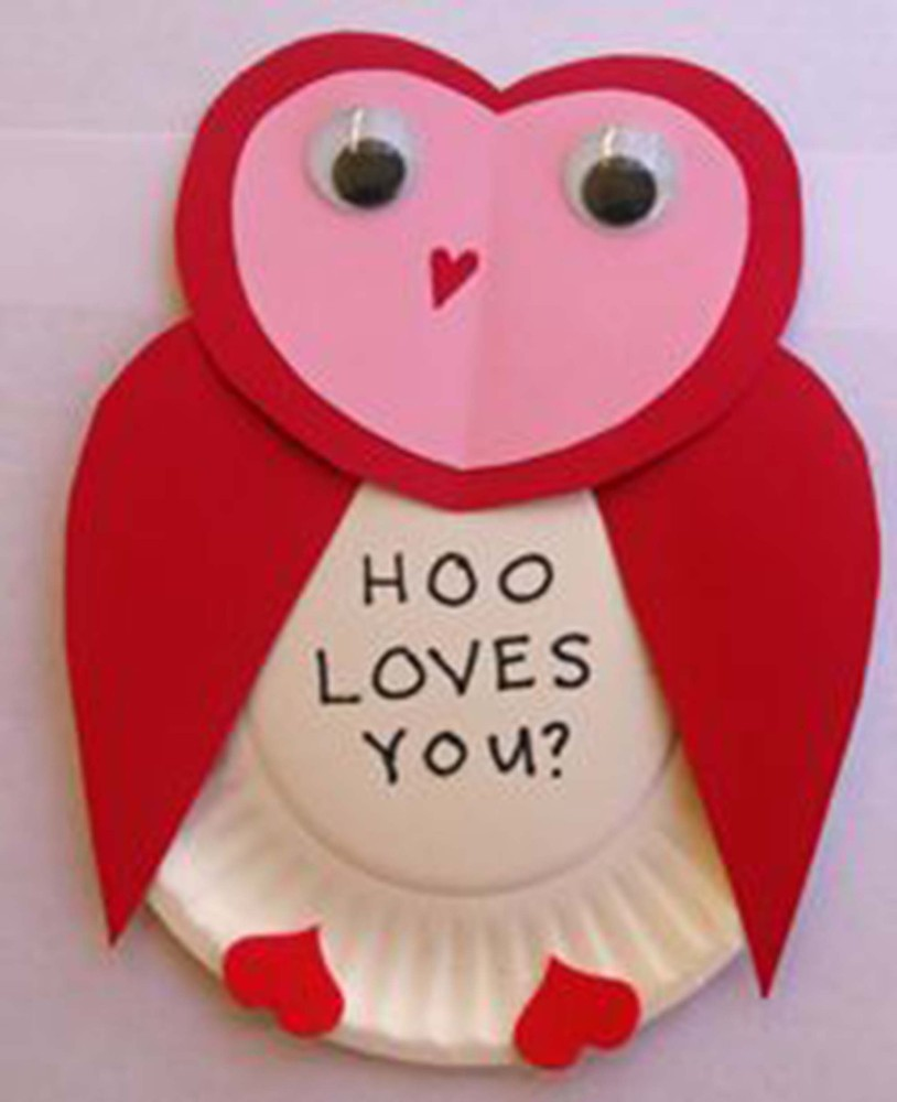 Charming Valentine Kid Craft Ideas Part - 1: 23 Easy Valentineu0027s Day Crafts That Require No Special Skills Whatsoever |  HuffPost